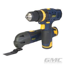 Ensemble outils multifonction 12 V GTPDDOMT12