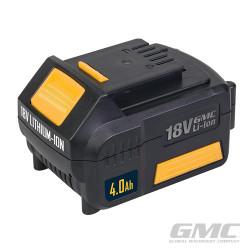 Batterie Li-ion haute capacité 18 V 4 Ah GMC18V40