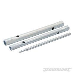 Lot de 3 clés à tube pour mitigeurs 9/11 et 12/13 mm