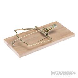 Piège à rat en bois dur 175 mm