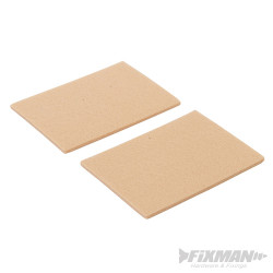 Lot de 2 patins en feutre autocollants 96 x 68 mm