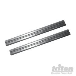 Fers de rabot TCMPL 60 mm Lot de 2 fers de 60 mm TCMPL