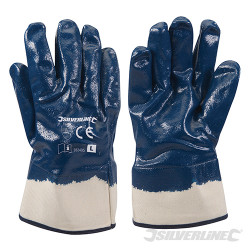 Gants jersey enduction nitrile Large