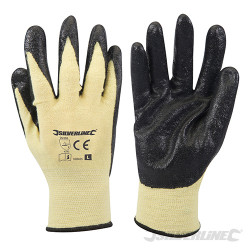 Gants mélange kevlar enduction nitrile Large