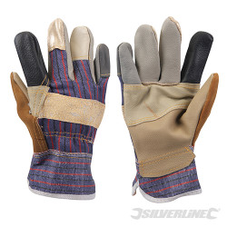 Gants de dockers patchwork Large