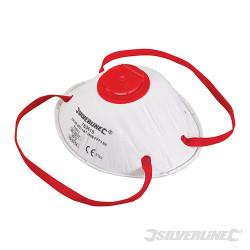 Masque respiratoire moulé à valve FFP3 NR FFP3 NR, une unité