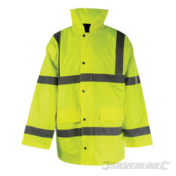Manteau haute visibilité classe 3 L 100-108cm (39-42