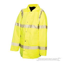 Manteau haute visibilité classe 3 M 92-100cm (36-39