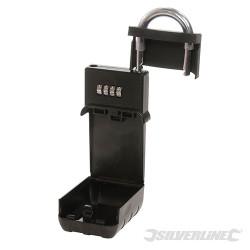 Coffre cadenas pour clés 70 x 190 x 40 mm