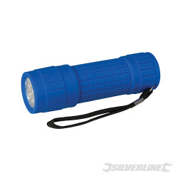 Torche LED ergonomique 9 LED