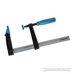 Serre-joint en F résistant (grande capacité) 300 x 120 mm